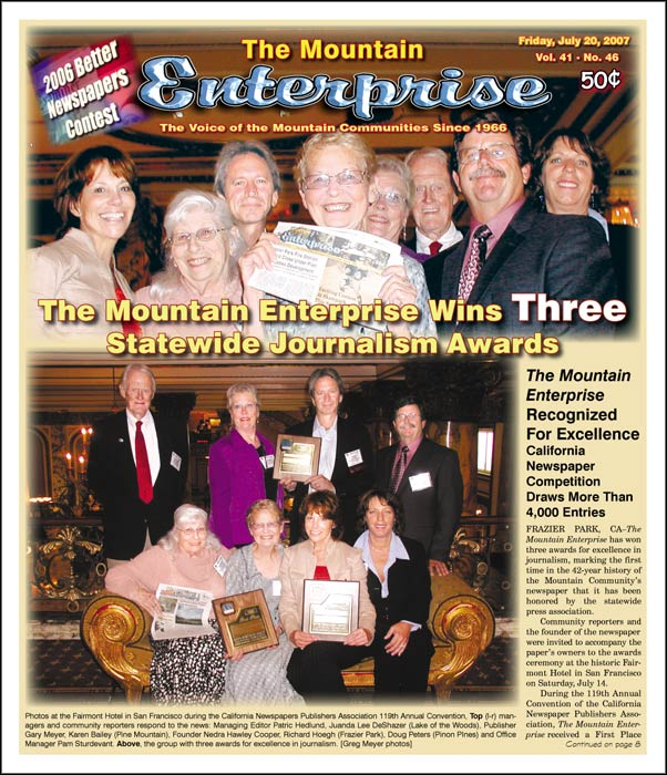 The Mountain Enterprise July 20, 2007 Edition