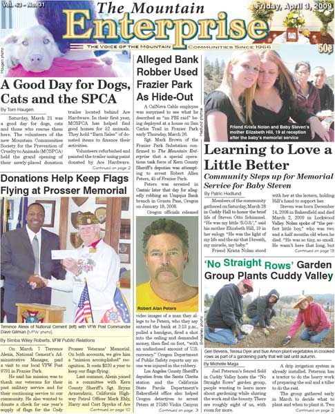 The Mountain Enterprise April 03, 2009 Edition