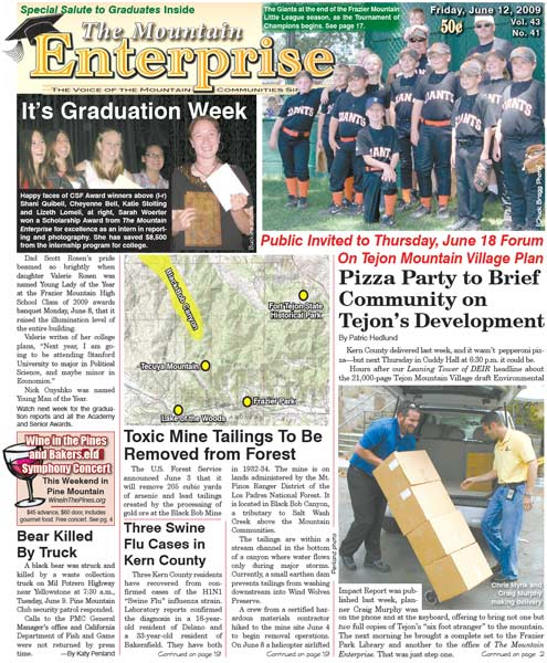 The Mountain Enterprise June 12, 2009 Edition