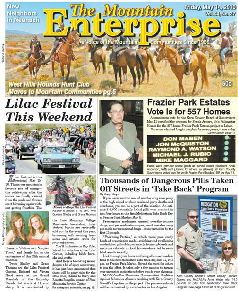 The Mountain Enterprise May 14, 2010 Edition