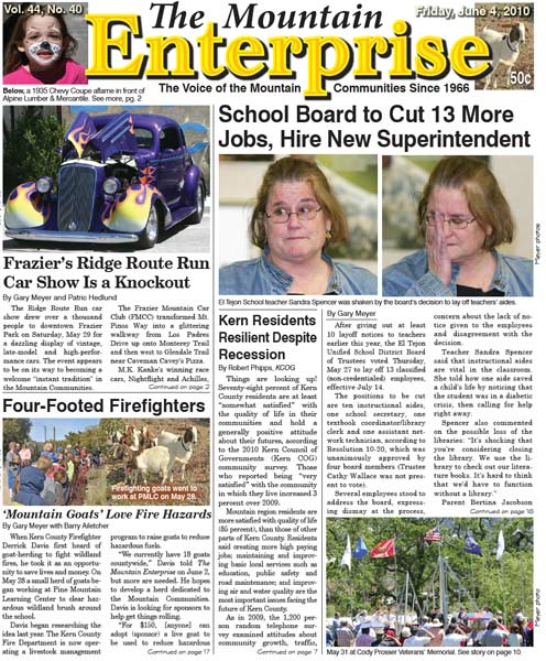 The Mountain Enterprise June 04, 2010 Edition