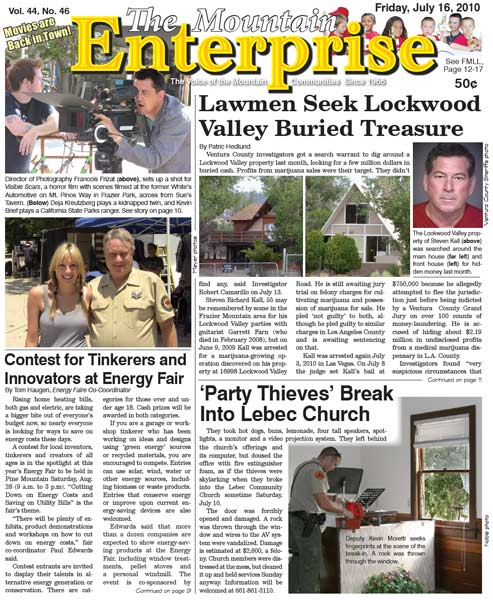 The Mountain Enterprise July 16, 2010 Edition