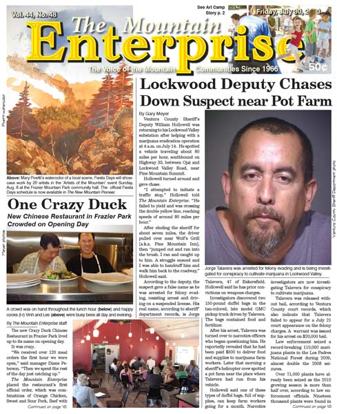 The Mountain Enterprise July 30, 2010 Edition