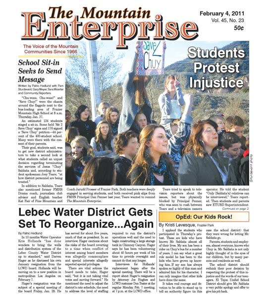 The Mountain Enterprise February 04, 2011 Edition