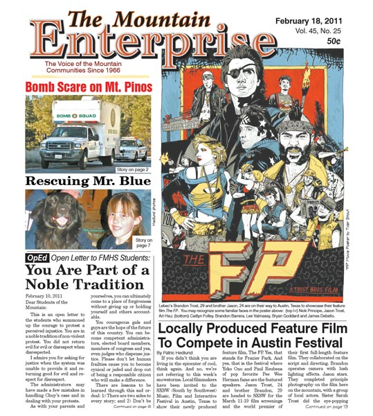 The Mountain Enterprise February 18, 2011 Edition