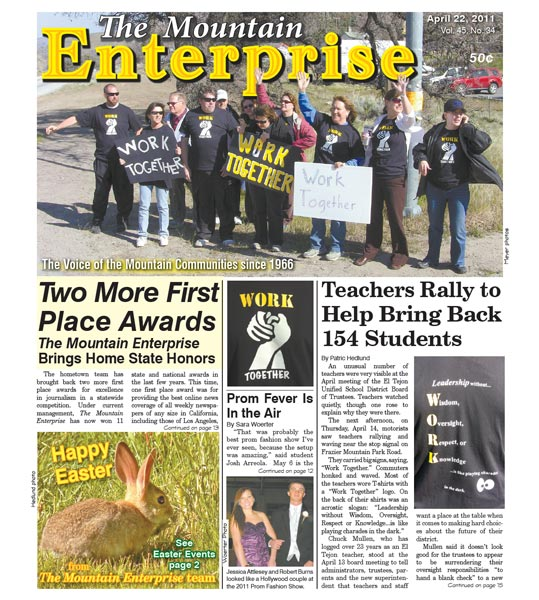 The Mountain Enterprise April 22, 2011 Edition