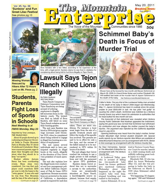 The Mountain Enterprise May 20, 2011 Edition