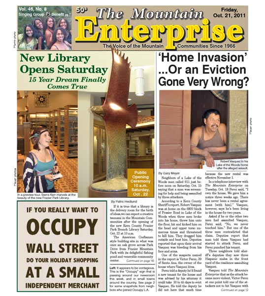 The Mountain Enterprise October 21, 2011 Edition