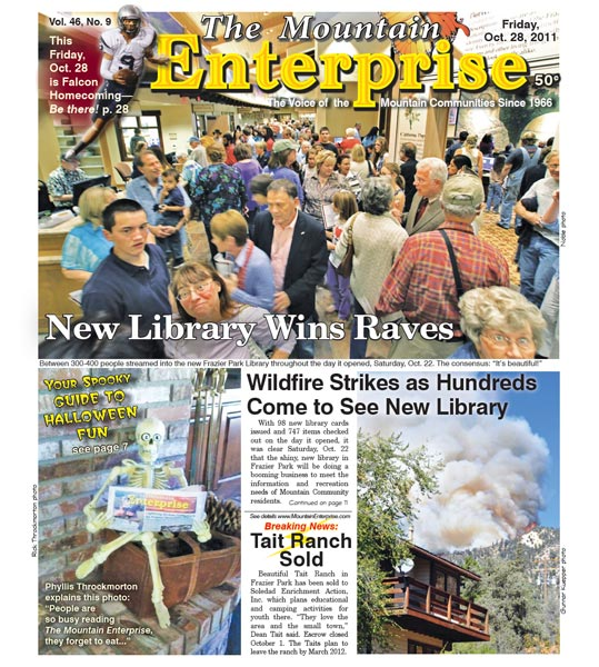 The Mountain Enterprise October 28, 2011 Edition