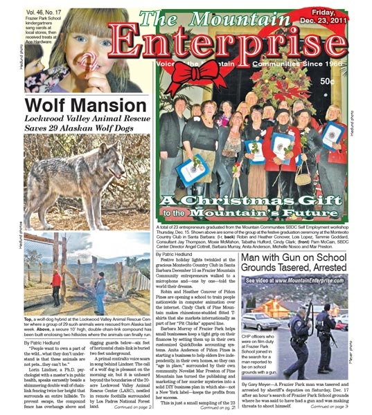 The Mountain Enterprise December 23, 2011 Edition