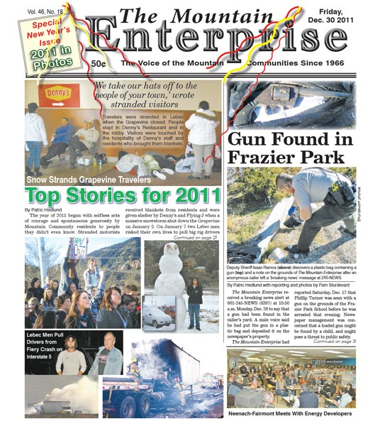 The Mountain Enterprise December 30, 2011 Edition