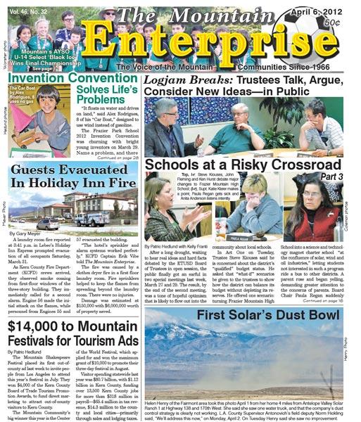 The Mountain Enterprise April 06, 2012 Edition