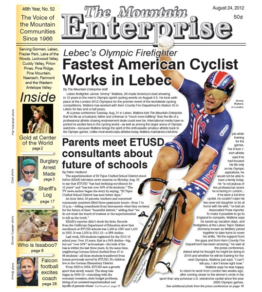 The Mountain Enterprise August 24, 2012 Edition