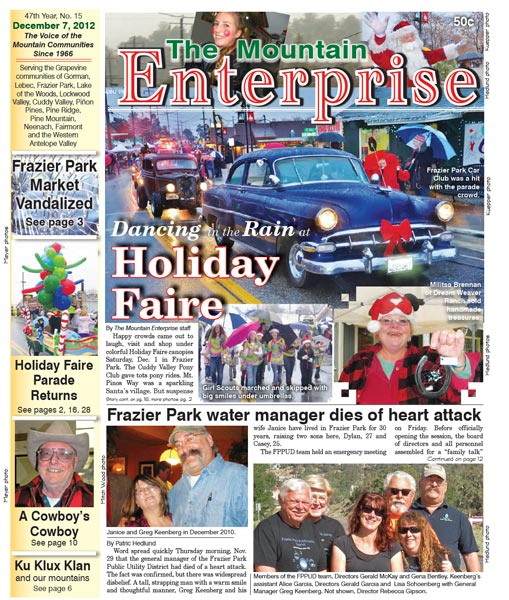 The Mountain Enterprise December 07, 2012 Edition