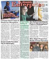 The Mountain Enterprise March 05, 2010 Edition