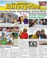The Mountain Enterprise April 09, 2010 Edition