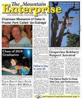 The Mountain Enterprise June 18, 2010 Edition