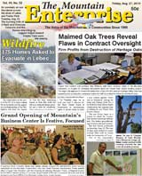 The Mountain Enterprise August 27, 2010 Edition