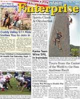 The Mountain Enterprise September 10, 2010 Edition
