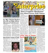 The Mountain Enterprise October 01, 2010 Edition