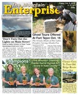 The Mountain Enterprise October 08, 2010 Edition