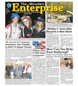 The Mountain Enterprise November 05, 2010 Edition
