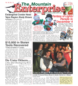 The Mountain Enterprise December 03, 2010 Edition