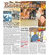 The Mountain Enterprise February 11, 2011 Edition