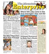 The Mountain Enterprise July 22, 2011 Edition