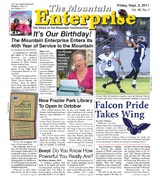 The Mountain Enterprise September 02, 2011 Edition