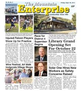 The Mountain Enterprise September 30, 2011 Edition
