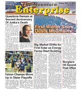 The Mountain Enterprise November 11, 2011 Edition