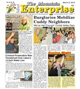 The Mountain Enterprise March 09, 2012 Edition