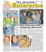 The Mountain Enterprise March 16, 2012 Edition