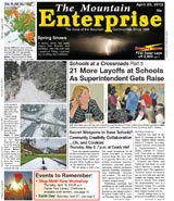 The Mountain Enterprise April 20, 2012 Edition