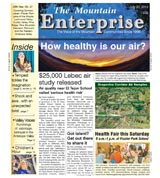 The Mountain Enterprise July 20, 2012 Edition