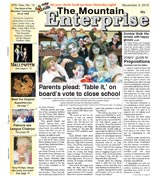 The Mountain Enterprise November 02, 2012 Edition