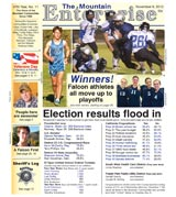 The Mountain Enterprise November 09, 2012 Edition