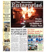 The Mountain Enterprise November 30, 2012 Edition