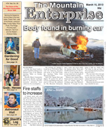 The Mountain Enterprise March 15, 2013 Edition