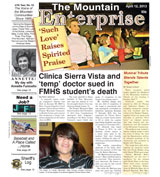 The Mountain Enterprise April 12, 2013 Edition