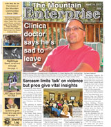 The Mountain Enterprise April 19, 2013 Edition