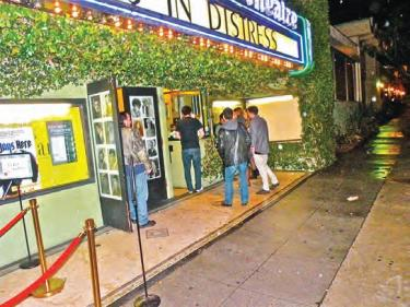 The FP drew a midnight crowd on St. Patricks Day to CineFamily in Los Angles. On March 28 The FP will screen at Universal Citywalk. It is in national release in 30 cities. [Hedlund photo for The Mountain Enterprise]