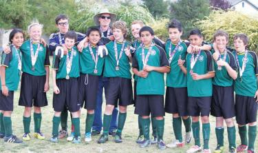 AYSO Champions Mountain's AYSO U-14 Black Ice Select Wins Region