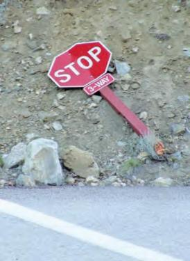 Heard Anyone Bragging About Stealing a Stop Sign?