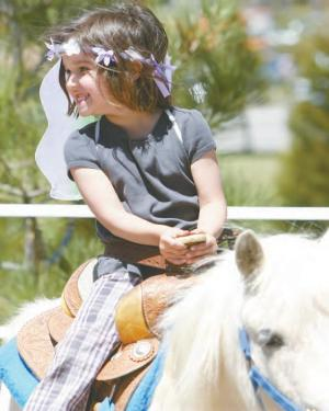 Yes, the pony rides are back! You'll find them hosted by Pine Mountain Auto Center. Children of all ages, from young to old to in-between, will find fun and friends at the 30th Annual Lilac Festival in Pine Mountain Village May 19-20. There are fun activities for children and lots of intriguing vendors' booths for all ages, plus music groups and dancers in the gazebo.