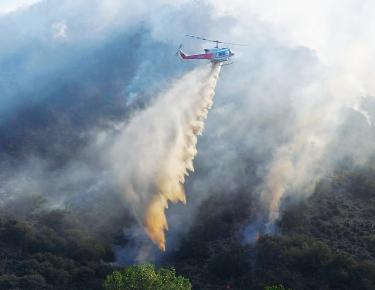 Lancer fire on doorstep of Lebec homes fully controlled