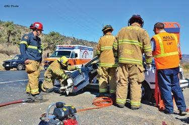Two injured in crash at Mt. Pinos and Frazier Mtn. Park Rd.
