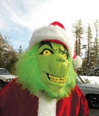 But the Grinch showed up before Santa, threatening to steal Christmas.