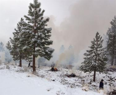 Prescribed Burns Reported in Pine Mountain area